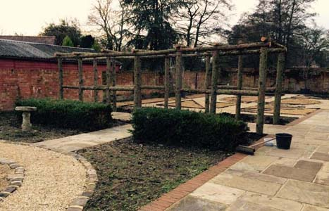 rustic pergola rustic structures rustic garden structures and buildings timber