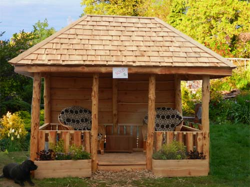 Gazebos Rustic Timber Gazebos Timber Gazebos From 163